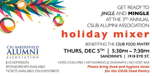 CSUB Alumni Holiday Mixer 2019
