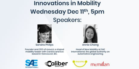 Caliber/SAE Innovations in Mobility & Transportation tickets