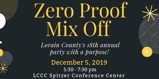 18th Annual Zero Proof Mix Off