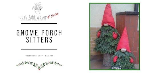 Gnome Porch Sitters