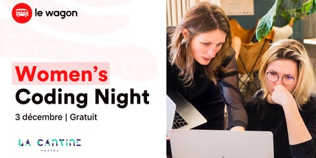 Women's Coding Night : Initiation gratuite au code ! billets