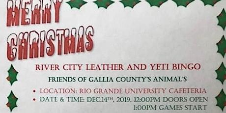 Friends of Gallia County's Animals RCL/Yeti Bingo tickets