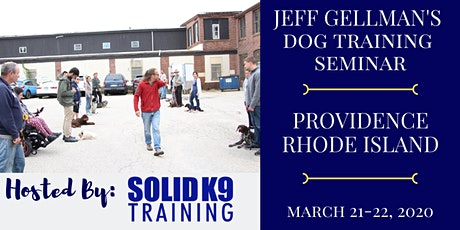 Providence, RI - Jeff Gellman's Dog Training Seminar tickets