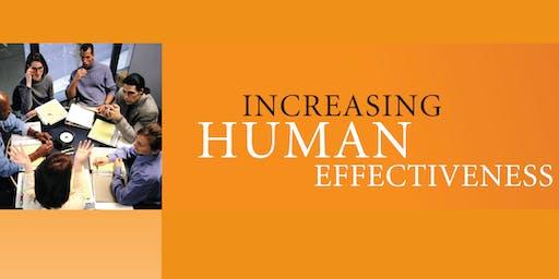 Increasing Human Effectiveness - Personal Development Program