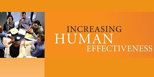 Increasing Human Effectiveness - Personal Development Program