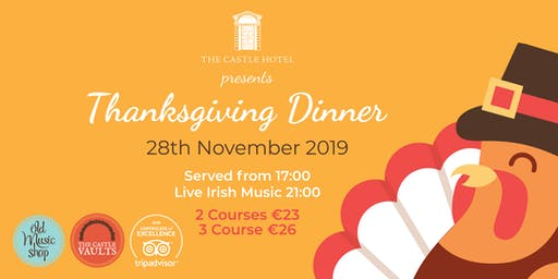 Thanksgiving Dinner 2019 Dublin