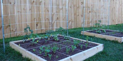 Square Foot Gardening - Jessie Brock Community Center
