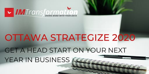 STRATEGIZE YOUR 2020 :: GET A HEAD START ON YOUR NEXT YEAR IN BUSINESS