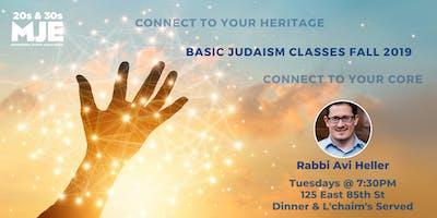 Tuesday Night Class & Dinner @ 7:30 w/ Rabbi Avi Heller | Weekly Wisdom | MJE East
