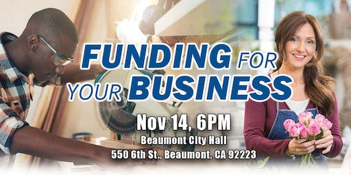 2019 Funding for Your Business - Access to Capital Workshop