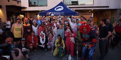 The 3rd Annual Onesie Beer Mile: 3 Times a Beer Mile