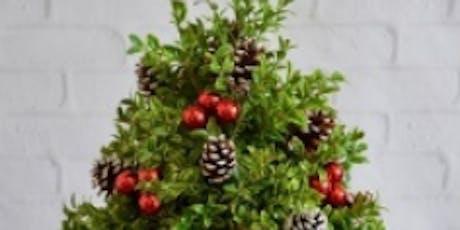 Make a Boxwood Christmas Tree tickets