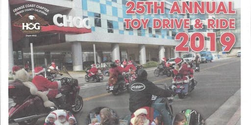 The 25th Annual Toy Drive & Ride for CHOC