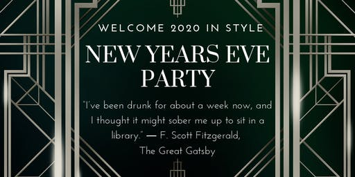 HonkyTonk Great Gatsby - Gangster & Dolls New Years Eve Celebration