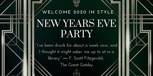 HonkyTonk Great Gatsby - Gangster & Dolls New Years Eve Celebration £100