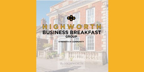 Highworth Business Breakfast Group at The Highworth | December 2019 tickets