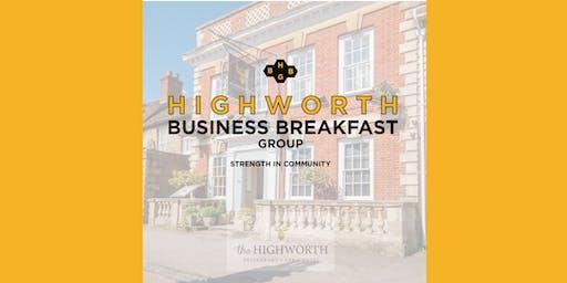 Highworth Business Breakfast Group at The Highworth | December 2019