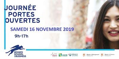 Journée Portes Ouvertes - Samedi 16 novembre 2019