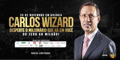 Carlos Wizard em Goiânia | Desperte o Milionário que há em você: do Zero ao Milhão tickets