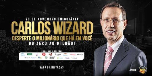 Carlos Wizard em Goiânia | Desperte o Milionário que há em você: do Zero ao Milhão