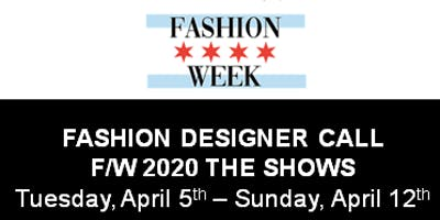 Fashion Designer Call for Chicago Fashion Week Powered by FashionBar