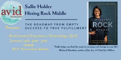 Avid Bookstore Presents: Sallie Holder, Hitting Rock Middle Book Party!