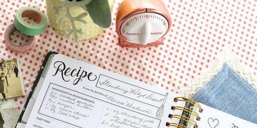 Food and sharing recipies
