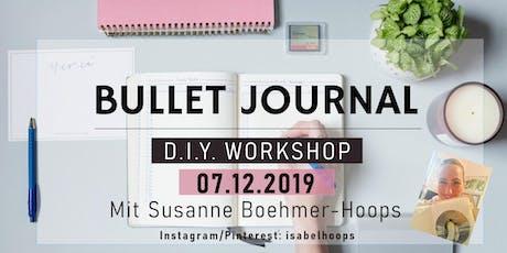 Bullet Journal Workshop mit 'isabelhoops' Tickets