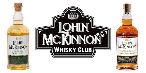 Lohin McKinnon Thomas Haas Cocoa Aged Whisky Dinner