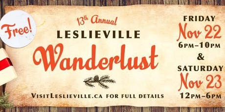 13th Annual Leslieville Wanderlust tickets