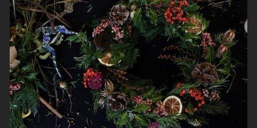 Wild wreath making