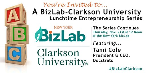 BizLab-Clarkson lunch featuring Tami Cole