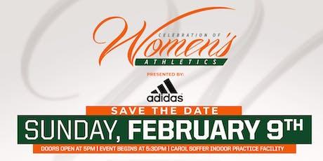 2020 Celebration of Women's Athletics tickets