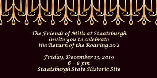 Return of the Roaring 20s: A Fundraiser for Friends of Mills at Staatsburgh