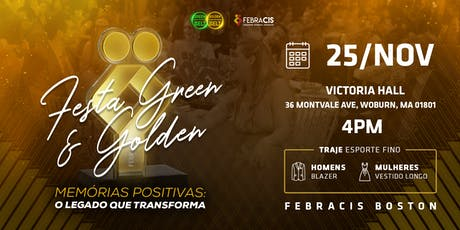 Febracis Boston - Festa Green e Golden Belt 2019 ingressos