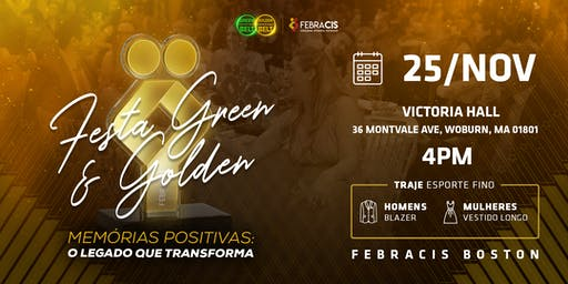 Febracis Boston - Festa Green e Golden Belt 2019