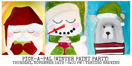 Winter Paint Party at Vertigo