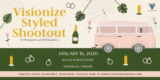 Visionize Styled Shootout for Photographers and Videographers