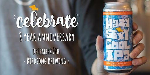 Birdsong 8 Year Anniversary Beer Token Pre-Sale!