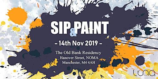 LUNA PRESENTS: Sip & Paint Session