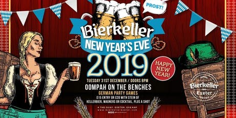Bierkeller New Years Eve Extravaganza 2019 tickets