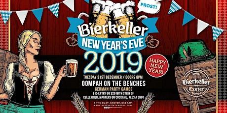 Bierkeller New Years Eve Extravaganza 2019 tickets
