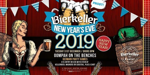 Bierkeller New Years Eve Extravaganza 2019