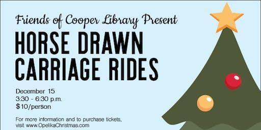 Horse Drawn Carriage Rides through Victorian Front Porch Tour