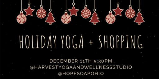 Holiday Yoga + Pop-up Shop!