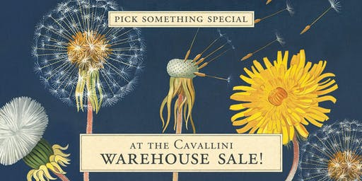 Cavallini & Co. Warehouse Sale