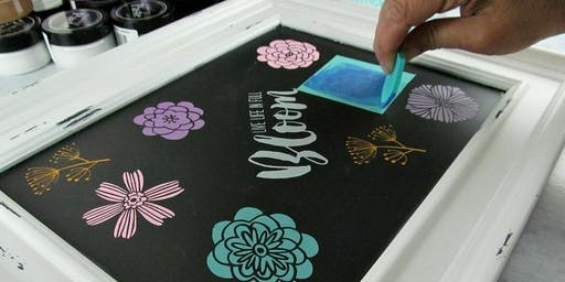 Chalk Paste Decor Beginners Class