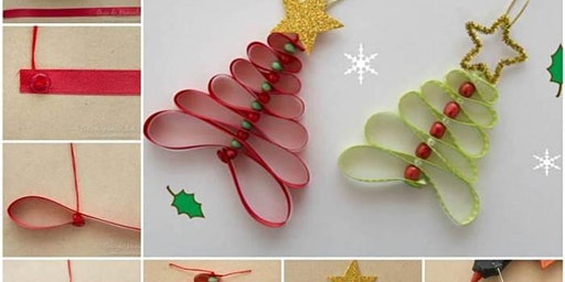 Quilling Tree Ornament Making