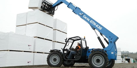 MONCTON -TELEHANDLER (ROUGH TERRAIN FORKLIFT)SAFETY TRAINING ($175+TAX) tickets