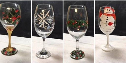 Holiday Wine Glass Painting Class